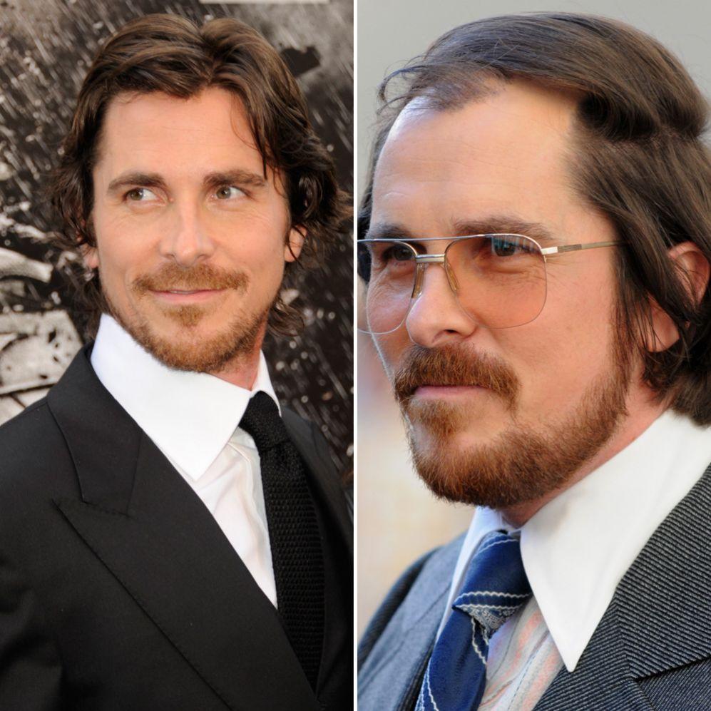 Christian Bale (40).  Interpretó a Irving Rosenfield, un gordo y...