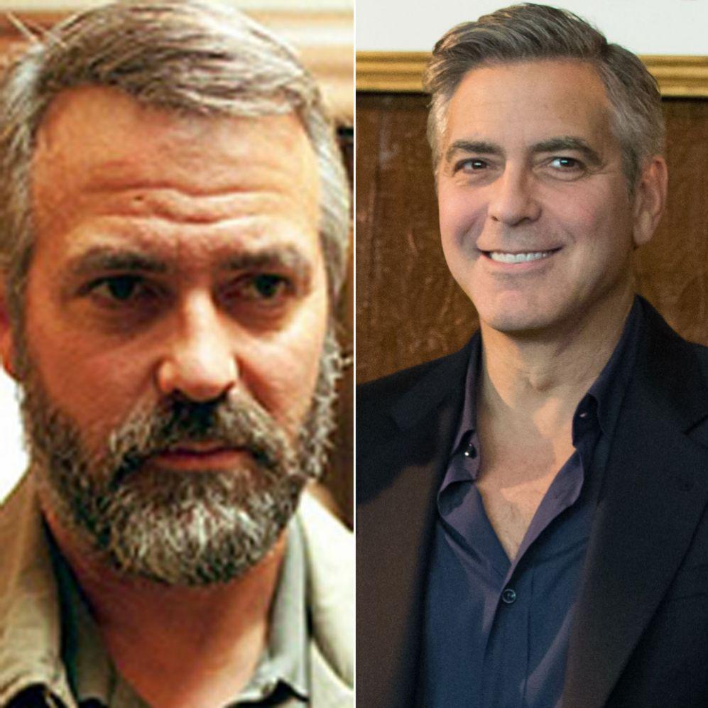 George Clooney (53).  Con el fin de desempeñar el papel del agente de...