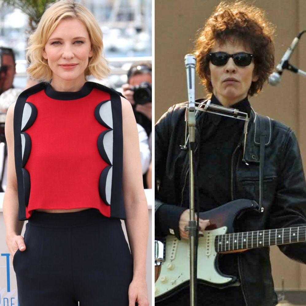 Cate Blanchett (45). Fue uno de los seis actores elegidos para dar...