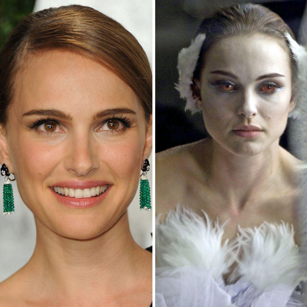 Natalie Portman (33).  La actriz israelí perdió nueve kilos para dar...