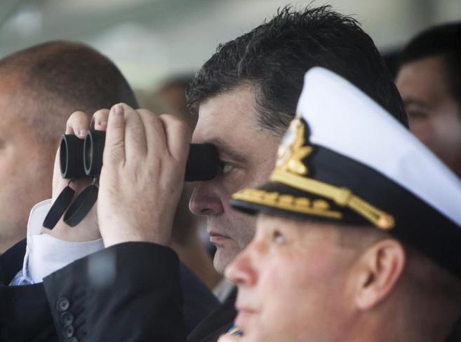 El presidente ucraniano, Poroshenko, en una foto de archiva.