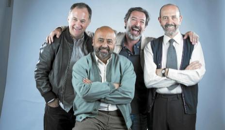 Luis Bermejo, Miguel Rellán, Ginés García Millán y Jesús...