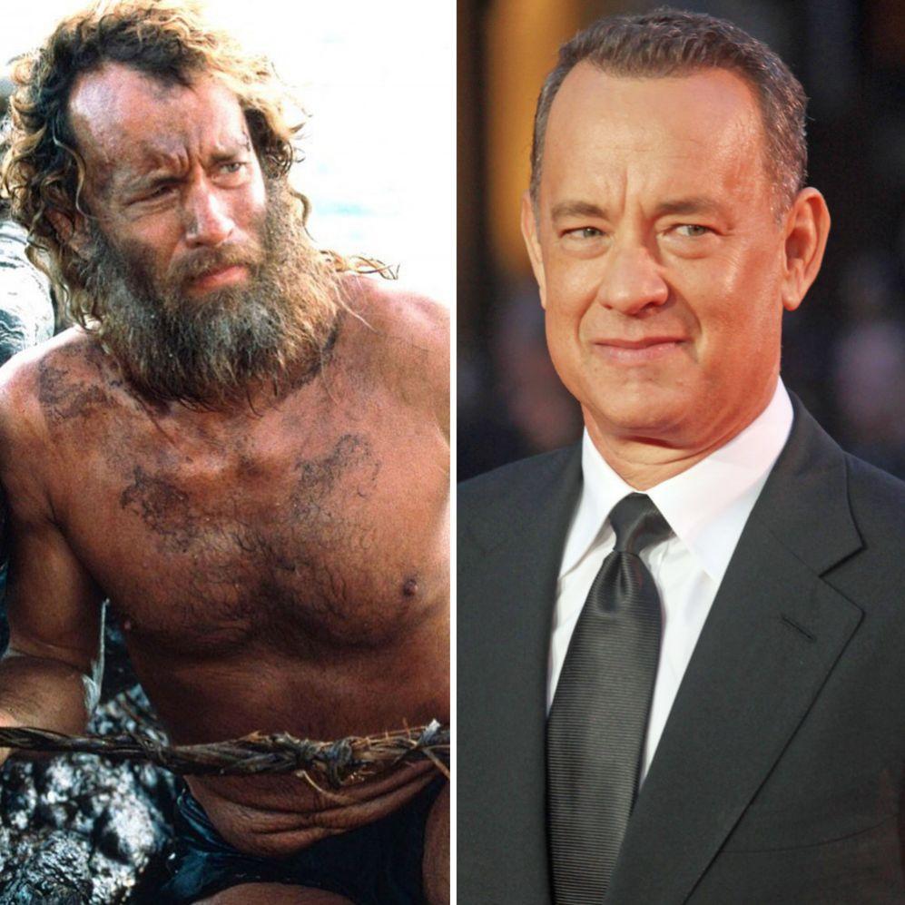 Tom Hanks (58). En la producción cinematográfica de 'Naúfrago' hubo...