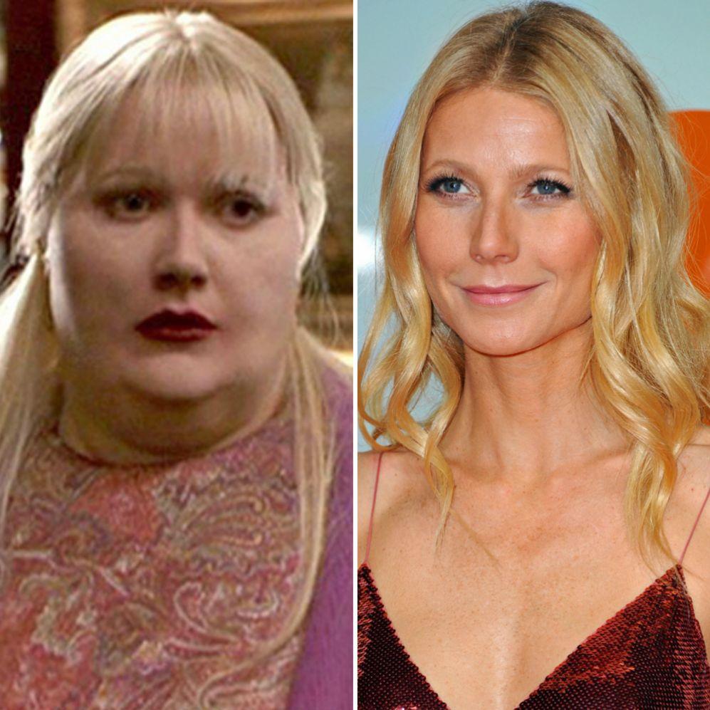 Gwyneth Paltrow (41). La actriz tuvo que transformarse en una mujer...