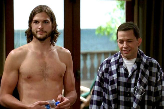 Ashton Kutcher y Jon Cryer.