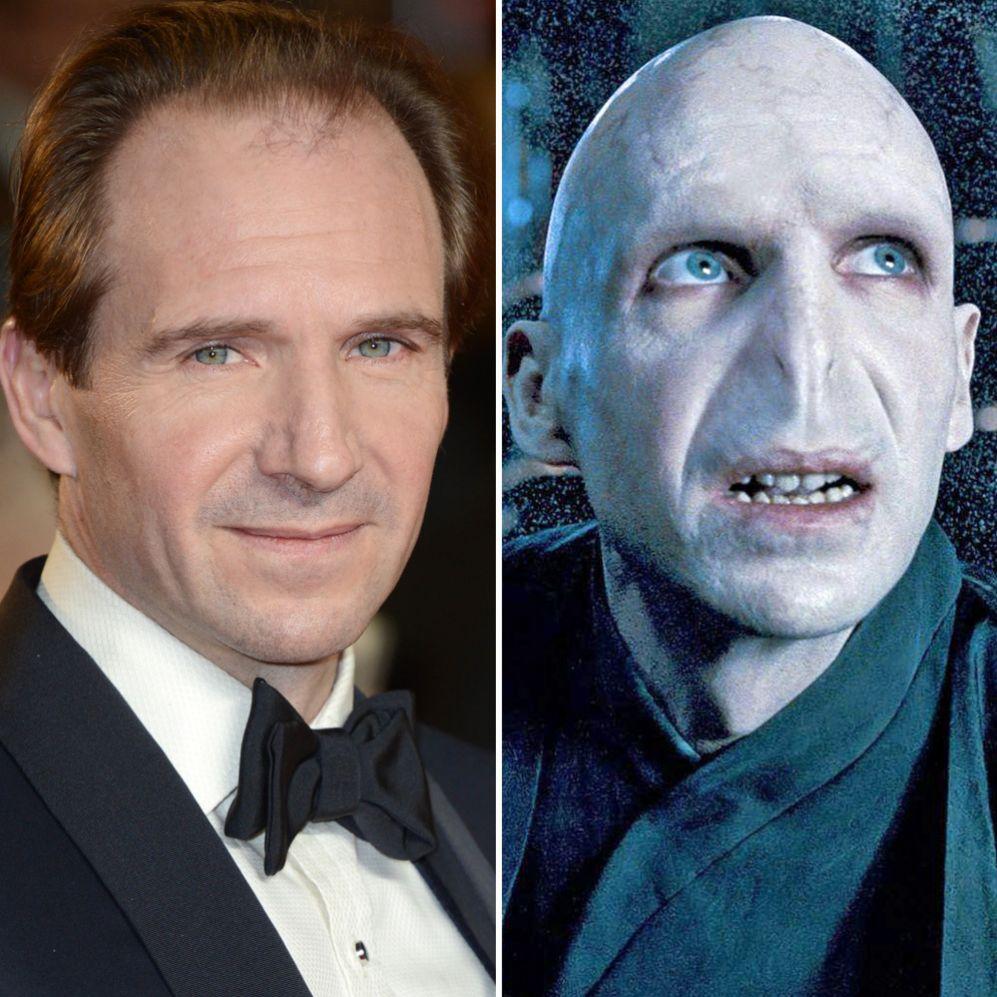 Ralph Fiennes (51). Para convertirse en el archienemigo de Harry...