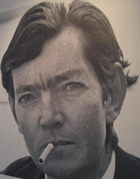 """Obra expuesta en la exposición """"Julio Cortázar 1914-2014""""..."""