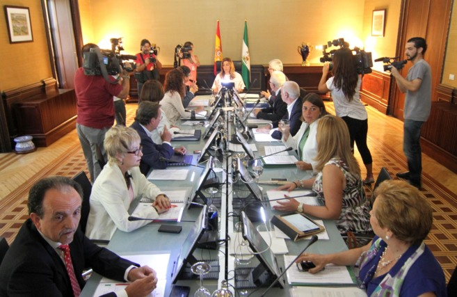 Primera reunión del Consejo de gobierno tras las vacaciones,...