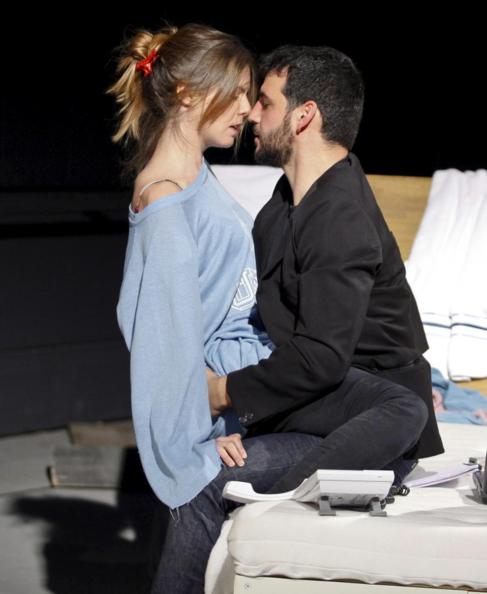 Manuela Velasco y Fran Perea en un momento de la obra.