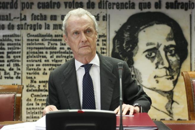 Pedro Morenés, en una comparecencia en el Congreso en junio.