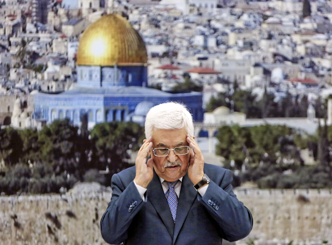 El presidente palestino Abu Mazen.