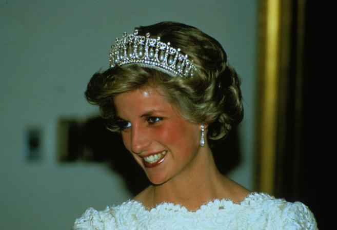Diana de Gales, en 1985.