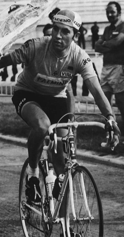 Eddy Merckx, durante su etapa como ciclista profesional.