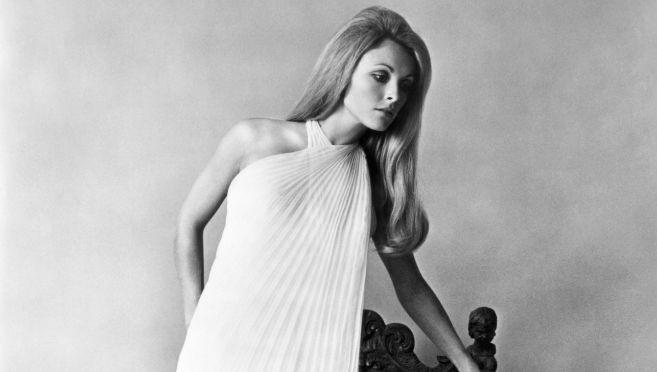 Sharon Tate, retratada en los años 60.