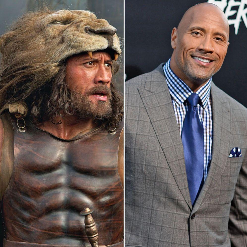 """Dwayne Johnson (42). El actor ha afrontado """"el reto"""" de encarnar a un..."""