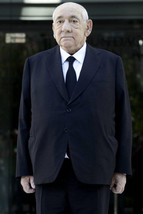 El presidente de El Corte Inglés, Isidoro Álvarez, esta mañana, en...