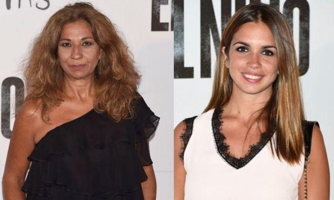 La cantante Lolita (i) y su hija, Elena Furiase (d), han acudido...