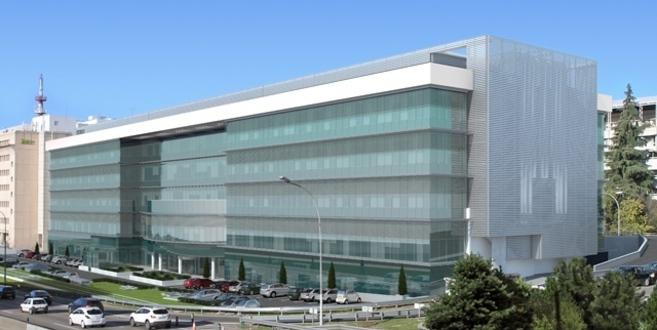 Edificio de oficinas perteneciente a la operación de Madrid...