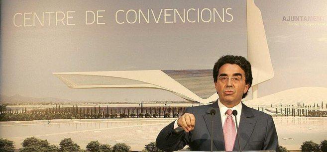 Santiago Calatrava, durante la presentación del Centro de...