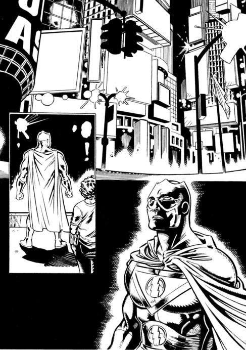 El cómic de Héctor Caño en el que recupera a Supersonic Man.