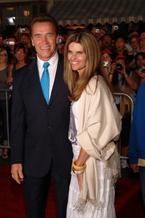 Maria Shriver y Schwarzenegger, en una imagen de archivo.