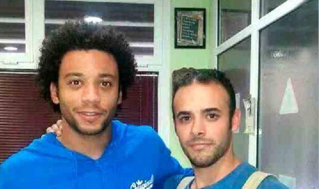 El jugador del Real Madrid, Marcelo, en la 'Autoescuela...