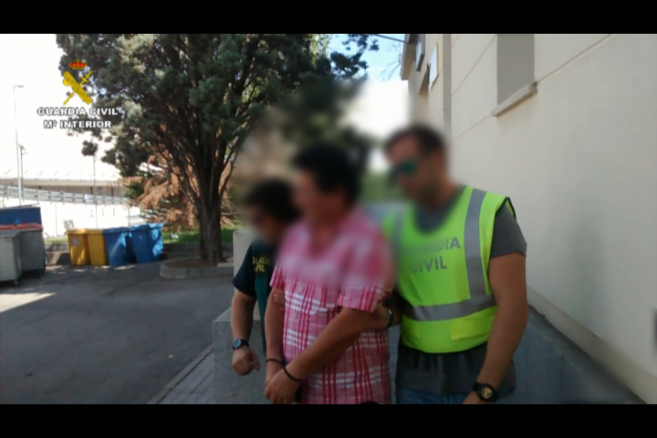 Jaime Antonio M. E. en el momento de la detención.