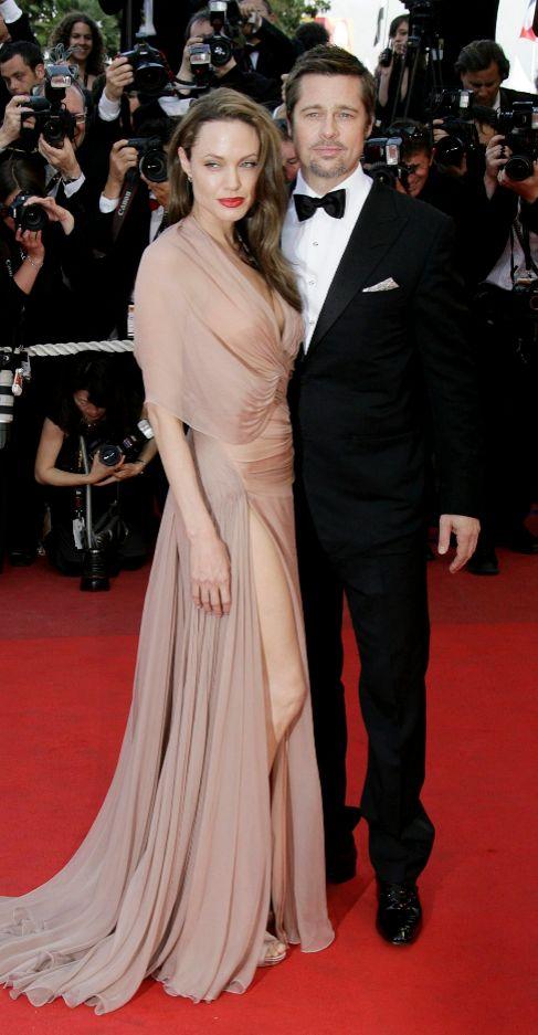 La pareja, en 2009 en Cannes.