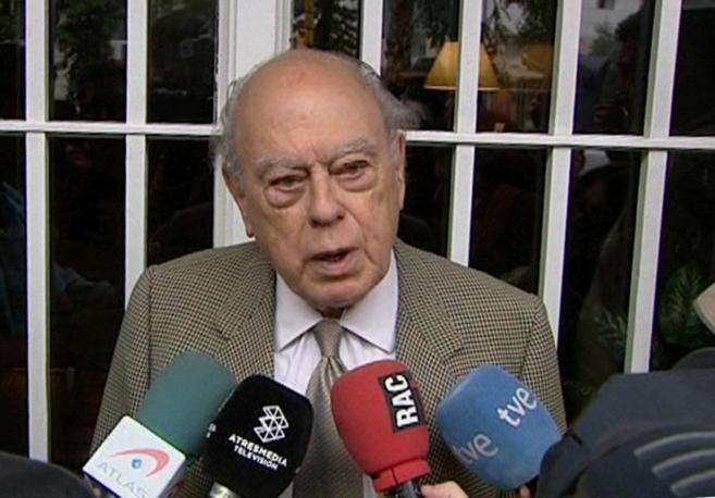 magen tomada de televisión del expresidente de la Generalitat Jordi...