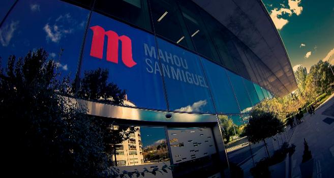 Sede de Mahou-San Miguel en Madrid.