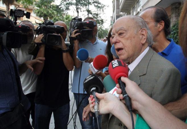 El ex presidente de la Generalitat Jordi Pujol