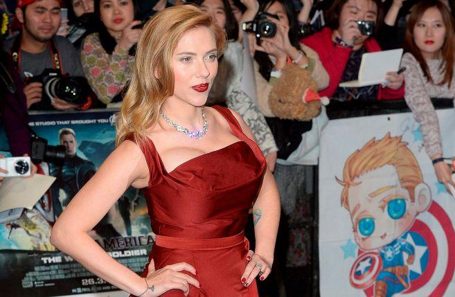 Scarlett Johansson, en un estreno