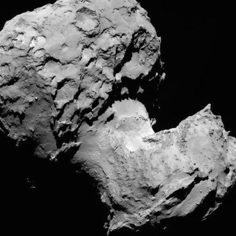 El cometa 67P / Churyumov-Gerasimenko.