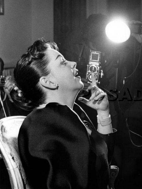La actriz, en 1958.