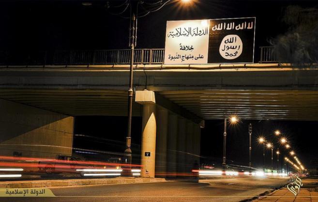 Imagen de la ciudad de Mosul proporcionada por el Estado Islámico.