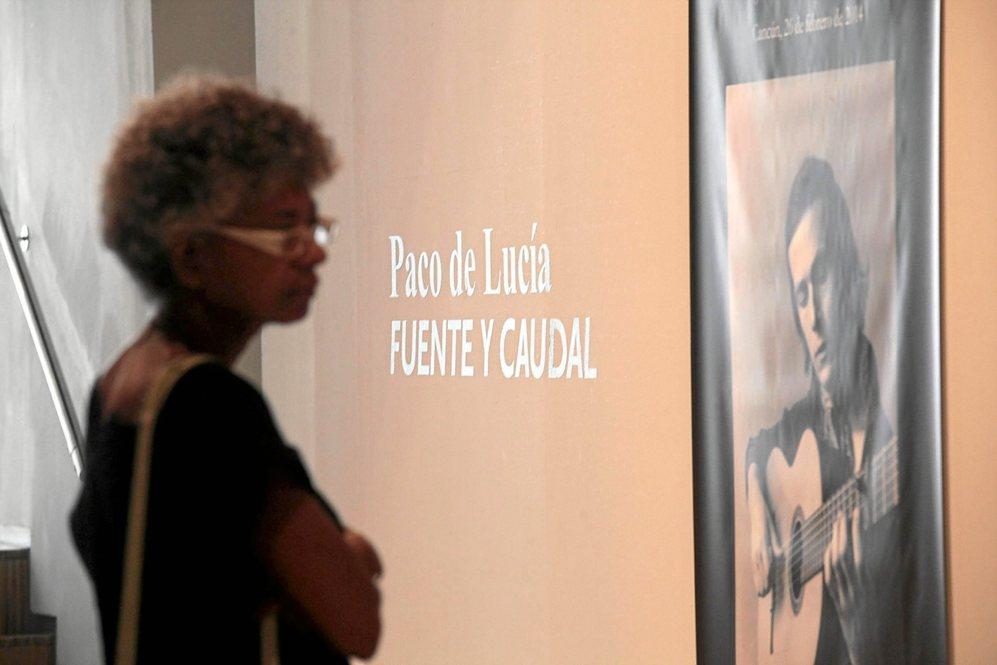 Exposicion sobre Paco de Lucia en el espacio Santa Clara de Sevilla,...