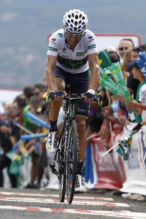 Alejandro Valverde perdió 29 segundos respecto a Froome.