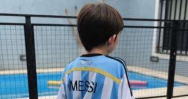 Un bebé de trece días rionegrino, primer argentino en llamarse Messi...