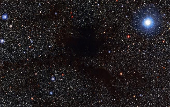 La nube interestelar Lupus 4