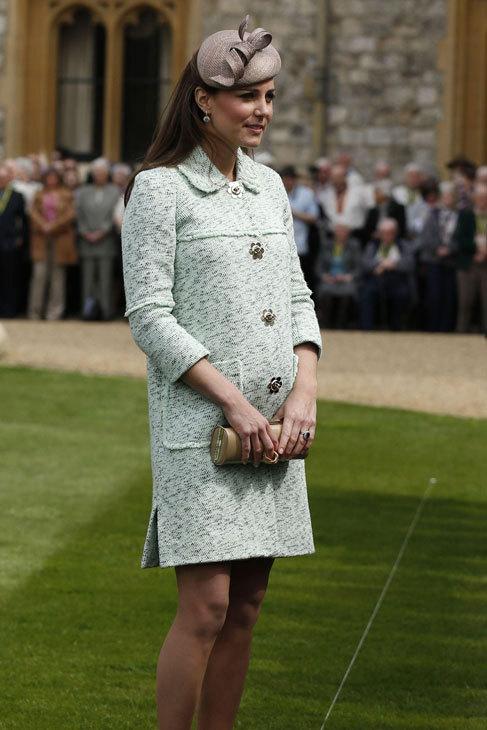 7277bccaa Los mejores vestidos del primer embarazo de Kate Middleton - La ...