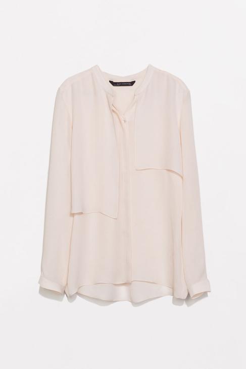 Camisa (45,95 euros), de Zara.