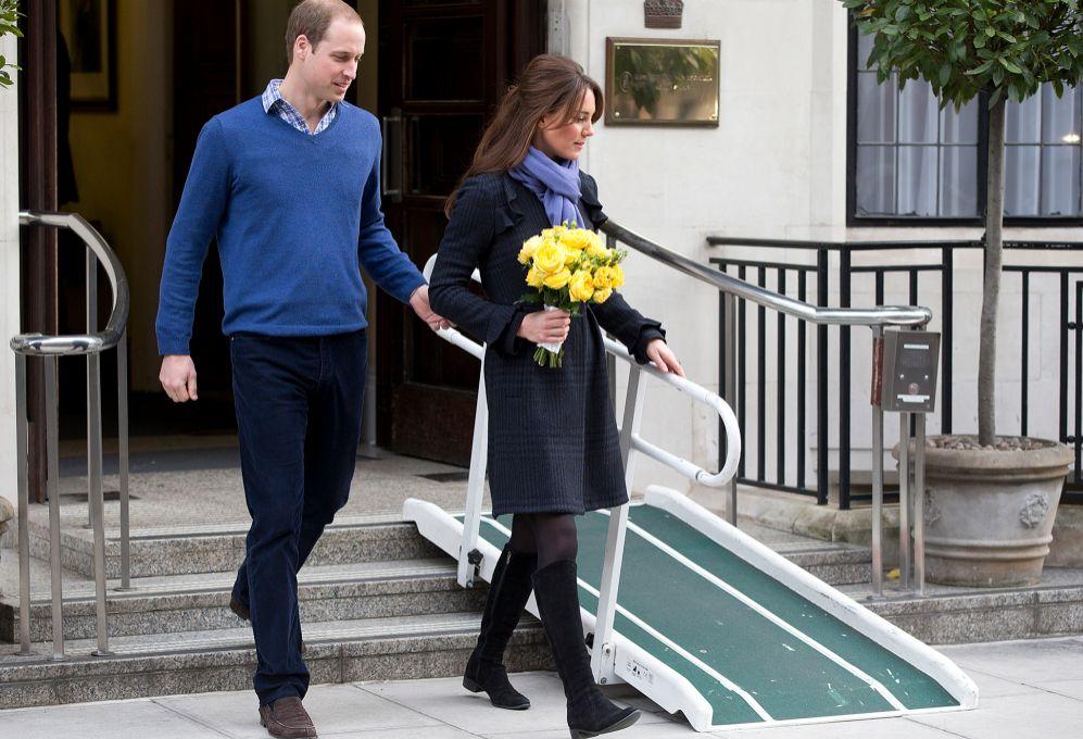 La casa real británica se vio obligada a informar del primer embarazo...