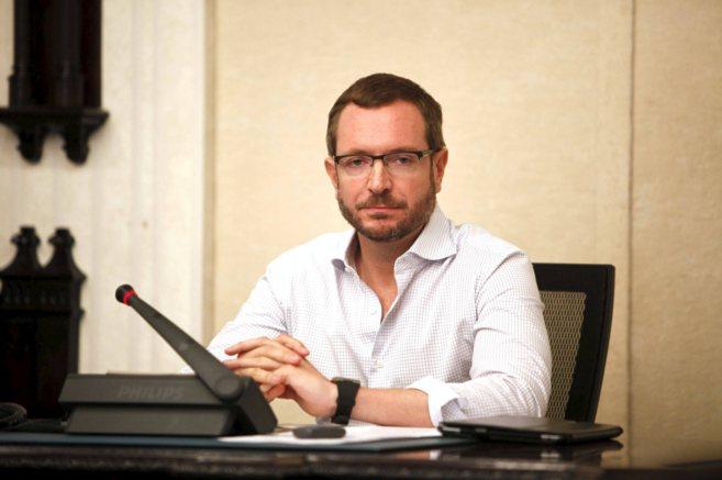 El alcalde de Vitoria Javier Maroto.