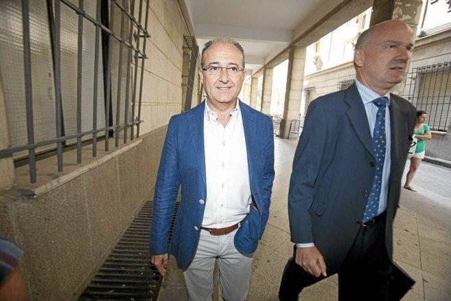 El ex consejero de Innovación, Martín Soler,el pasado 17 de junio en...
