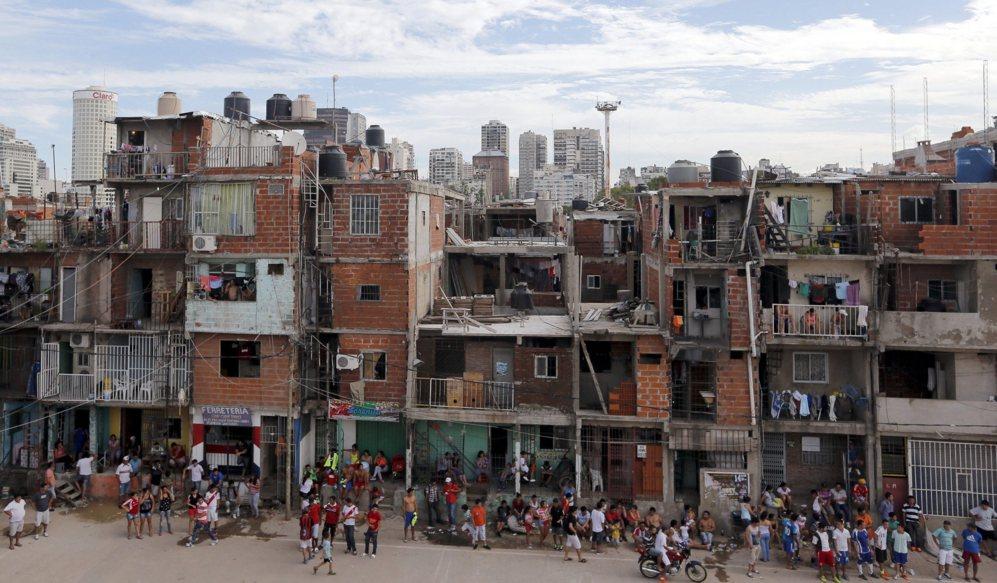 Villa 31, en Bustos Aires.