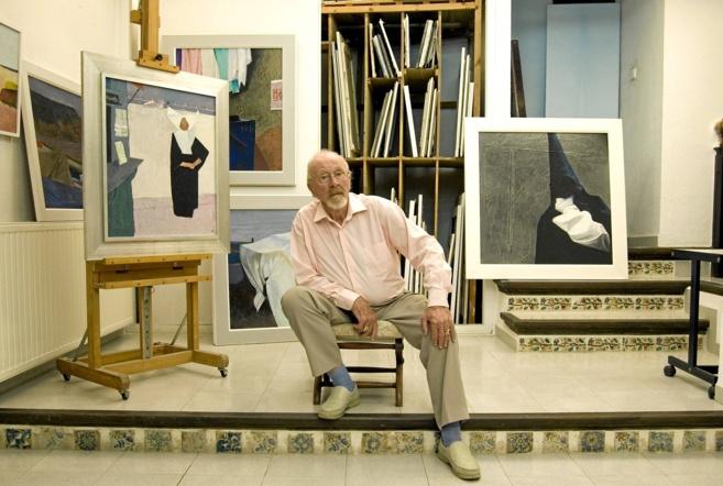 El artista alemán en una fotografía tomada en su estudio en 2008.