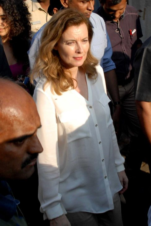 En enero, Valérie se fue a India dos días después de conocerse su...