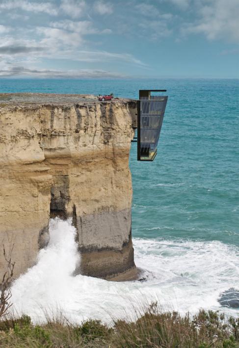 La vivienda se proyecta en la costa Victoria, al sureste de Australia.