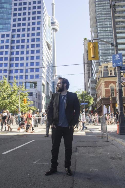 El director español Carlos Vermut en Toronto.