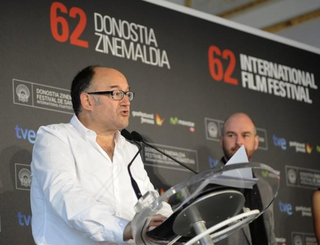 El director del Festival de Cine De San Sebastián, José Luis...